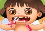 العاب اجراء عملية جراحية لخلع اسنان دورا