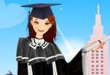العاب تلبيس ملابس التخرج من الجامعة