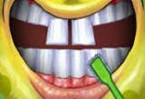 العاب تنظيف وعلاج اسنان سبونج بوب