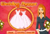 لعبة متجر فساتين الزفاف