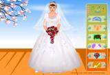 العاب تلبيس فستان الزفاف