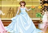 لعبة تلبيس فستان الفرح