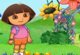 لعبة دورا والزهور 2017