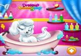 لعبة استحمام الكلب بوبي