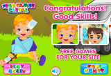 لعبة الأسعافات الأولية للطفل الصغير