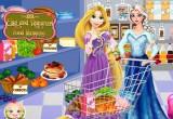 لعبة تسوق السا و ربانزل