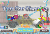لعبة توم ينظف السيارات