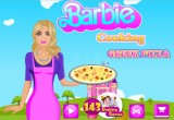لعبة باربي طبخ البيتزا