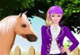 لعبة باربي والحصان 2014