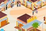 لعبة بناء فندق و مول تجاري