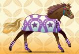 لعبة تلبيس وتزين الحصان