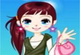 لعبة تلبيس الفتاة الجميلة 2014