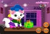 لعبة تلبيس القطة الجميلة ولا في الاحلام