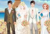 لعبة تلبيس عروسة وعريس حقيقة