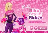 لعبة دراجة باربي السريعة