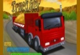 لعبة سباق الشاحنة