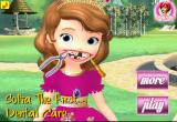 لعبة علاج أسنان صوفيا