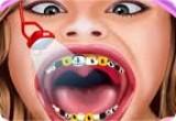 لعبة علاج اسنان هانا مونتانا