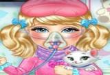 لعبة علاج الأنفلونزا للصبايا