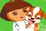العاب الدكتورة البيطرية دورا