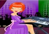 لعبة العزف على الة  البيانو