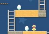 لعبة تجميع بيض الدجاج