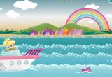 لعبة ديكور على شاطئ البحر