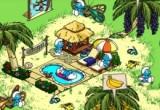 لعبة قرية السنافر Smurfs Village