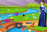 لعبة تنظيف البيئة 2016