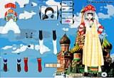 لعبة ارتداء ملابس رائعة تقليدية على حسب دول العالم