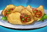 لعبة تحضير ساندويشات الشاورما