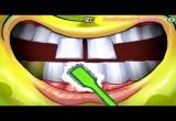 لعبة تنظيف اسنان سبونج بوب