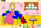 لعبة تلوين الأميرة الجميلة باربي 2020