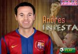 لعبة تلبيس أندريس إنيستا الاصلية