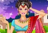 لعبة تلبيس البنت الهندية