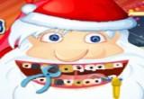 لعبة علاج وتنظيف اسنان بابا نويل