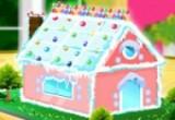 لعبة صنع بيت الحلوى