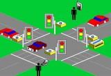 لعبة إشارات المرور  2017