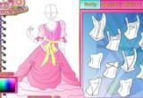 لعبة تفصيل فستان العرس 2014