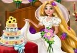 لعبة تلبيس العروسة ربانزل وصديقاتها