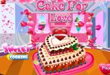 العاب طبخ لعبه تحضير كعكة الحب