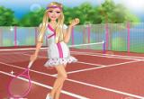 لعبة تلبيس ومكياج بنات التنس الارضي