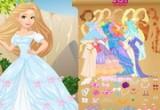 لعبة العروسة باربي الجميلة