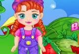لعبة الطفلة انا في مزرعة البطيخ