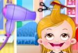 لعبة قص شعر بيبي هازل