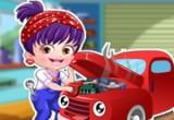 لعبة ميكانيكي السيارات بيبي هازل