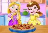 لعبة طبخ البيتزا مع ربانزل في رمضان