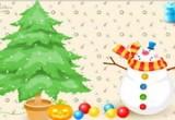 لعبه تزيين شجرة الكريسماس