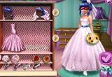 لعبة زفاف الدعسوقة والقط الاسود
