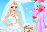 لعبة صالون زفاف ملكة الثلج السا